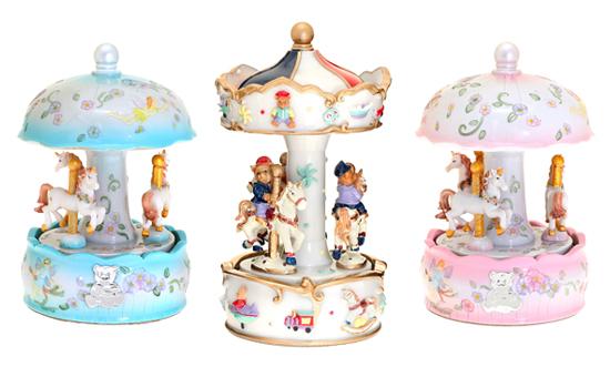 διακοσμητικό δώρο για το παιδικό δωμάτιο, μουσικό carouzel