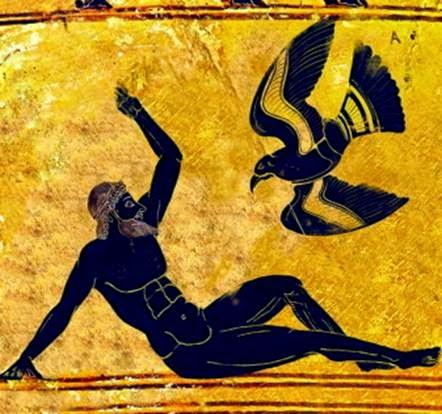 Προμηθεύς - ο Θεός τών Τεχνών και τής Κοσμηματοποιίας
