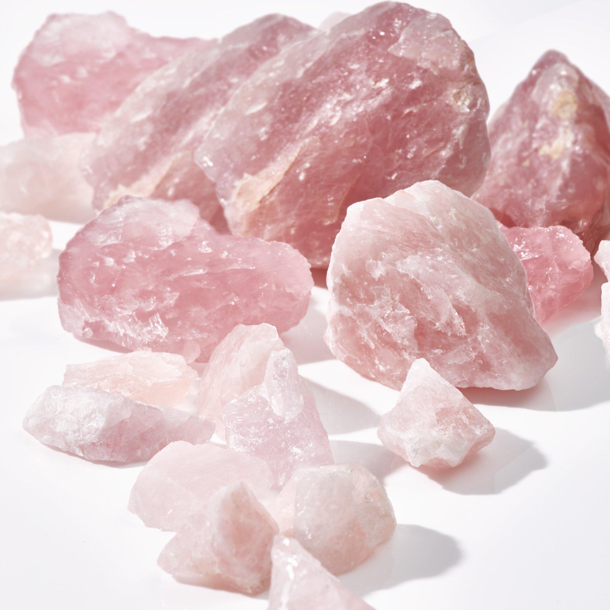 Ροζ Χαλαζίας - Rose Quartz stuff