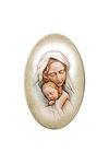 εικόνα Παναγία Βρεφοκρατούσα, oval, ζωγραφισμένη σε ξύλο / 2ΕΙ0256 logo