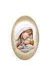 εικόνα Παναγία Γλυκοφιλούσα, oval, ζωγραφισμένη στο ξύλο / 2ΕΙ0257 logo