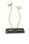 διακοσμητικό δώρο γραφείου- απιτιού, από ανακυκλωμένο αλουμίνιο και ορείχαλκο, πεταλούδες / 2ΚΘ0004