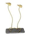 διακοσμητικό δώρο γραφείου- απιτιού, από ανακυκλωμένο αλουμίνιο και ορείχαλκο, σαϊτες / 2ΚΘ0006