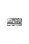 θρησκευτική ορθόδοξη εικόνα πίστης Μυστικός Δείπνος, ανάγλυφη, σε ασήμι 925' / 2ΕΙ0204 / 120 x 70 mm