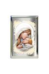 επάργυρη θρησκευτική εικόνα πίστης, Παναγία Γλυκοφιλούσα / 2ΕΙ0192 / 100 x 150 mm