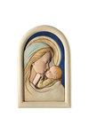 κεραμική εικόνα, ανάγλυφη με νωπογραφία, Παναγία Γλυκοφιλούσα / 2ΕΙ0199 / 120 x 180 mm