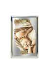 επάργυρη θρησκευτική εικόνα πίστης, Παναγία Γλυκοφιλούσα / 2ΕΙ0221 / 100 x 150 mm
