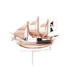 Επετειακή Καρφίτσα Γούρι 21 Θαλασσομάχο για τα 200 χρόνια από την Ελληνική Επανάσταση / Ασημένια, χειροποίητη, ροζ επιχρυσωμένη