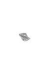 πρες παπιέ κοχύλι, διακοσμητικό δώρο γραφείου - σπιτιού από ανακυκλωμένο αλουμίνιο / 2ΔΙ0303 (2)