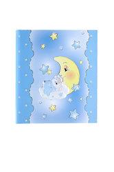 παιδικό άλμπουμ φωτογραφιών για αγοράκια  ''αρκουδάκι, φεγγάρι, αστέρια'' (2ΑΛ0073)