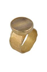 γυναικείο δαχτυλίδι, με quartz, χειροποίητο, σε ασήμι 925', επιχρυσωμένο / 2DA0303 logo
