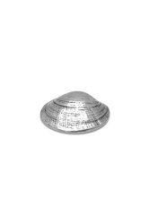 διακοσμητικό δώρο γραφείου - σπιτιού, πρες παπιέ, από ανακυκλωμένο αλουμίνιο, αχιβάδα γυαλιστερή / 2ΔΙ0299(2)