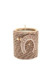 διακοσμητικό δώρο για το σπίτι και το γραφείο, αρωματικό κερί με πέταλο, κατασκευασμένο από ορείχαλκο και δεμένο με κορδόνι / 2ΔΙ0341