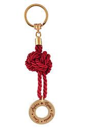 μπρελόκ - κλειδοθήκη, από ορείχαλκο, με ευχές, ''Αγάπη Υγεία Ευτυχία Τύχη'' / 2ΜΡ0061
