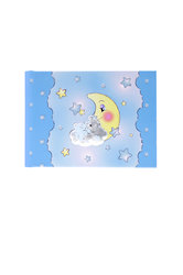 παιδικό άλμπουμ φωτογραφιών για αγοράκια, ''αρκουδάκι, φεγγάρι, αστέρια'' / 2ΑΛ0078