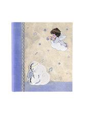 παιδικό άλμπουμ φωτογραφιών για αγοράκια, 'αγγελάκι, άρπα, νότες'' / 2ΑΛ0074