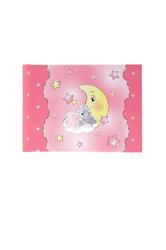 παιδικό άλμπουμ φωτογραφιών για κοριτσάκια, ''αρκουδάκι, φεγγάρι, αστέρια'' / 2ΑΛ0072