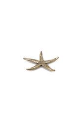 πρες παπιέ, αστερίας, διακοσμητικό δώρο γραφείου - σπιτιού από ορείχαλκο / 2ΔΙ0318 (2)