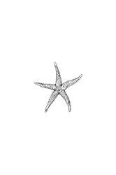 πρες παπιέ, αστερίας, διακοσμητικό δώρο γραφείου - σπιτιού από ανακυκλωμένο αλουμίνιο / 2ΔΙ0321