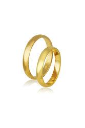 βέρες γάμου - αρραβώνων, σε χρυσό Κ9 ή Κ14 / 412 / 3,30 mm