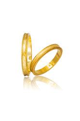 βέρες γάμου - αρραβώνων, σε χρυσό Κ9 ή Κ14 / 752 / 3.00 mm