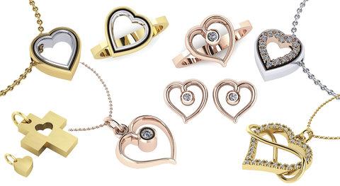 Κοσμήματα Δώρα για την Ημέρα τών Ερωτευμένων