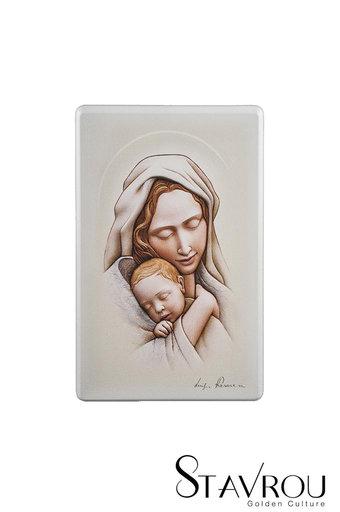 εικόνα Παναγία Βρεφοκρατούσα, ζωγραφισμένη σε ξύλο / 2ΕΙ0258 logo