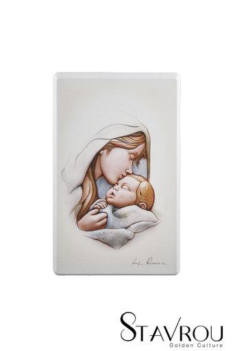 εικόνα Παναγία Γλυκοφιλούσα, ζωγραφισμένη σε ξύλο / 2ΕΙ0259 logo