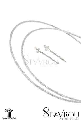 στέφανα γάμου, και καρφίτσες για τον γαμπρό και τον κουμπάρο, χειροποίητα, ασημένια 925' / 2ΣΦ0007 logo