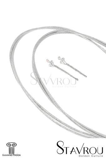 στέφανα γάμου, και καρφίτσες για τον γαμπρό και τον κουμπάρο, χειροποίητα, ασημένια 925' / 2ΣΦ0008 logo