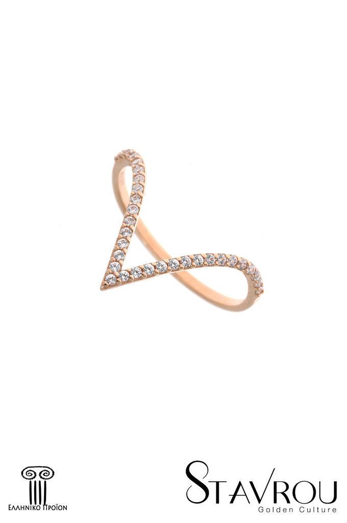 Δαχτυλίδι Γυναικείο   Χρυσό Κ14 1DA2854  f96a639cbea